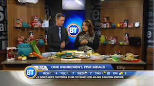 One ingredient, five yummy meals with Chef V