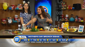 Mother's Day Brunch ideas with Chef V