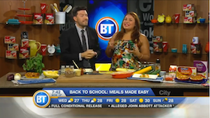 Chef V shares easy lunches for Back-to-School