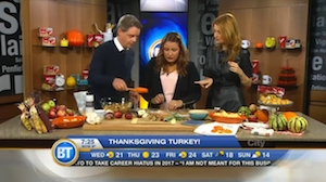 A new spin on Thanksgiving turkey with Chef V